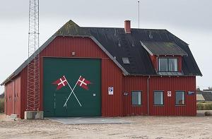 Redningsstationen ved Thorupstrand er en del af kystredningstjenesten.